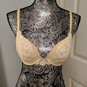 Victoria's Secret yellow floral bra 32D